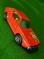 Vintage 1974 Matchbox Superfast no 62 Red Renault 17 TL Diecast Racing Car Toy
