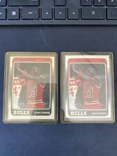 2 Lot 1988 Fleer Michael Jordan Chicago Bulls #17 Basketball Card Psa?