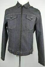 Joe's Denim Selvedge Motorcycle Jacket Men Size L