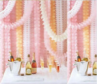 1pc Hanging Paper Garland Decoration Wedding Christening Birthday Party Decor