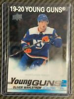 19-20 UD Series 2 Clearcut Young Guns - Oliver Wahlstrom