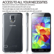 Samsung Galaxy S5 New Ultra Thin Crystal Clear Transparent Hard Back Cover Case