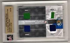 ROBERTO LUONGO 10/11 ITG Ultimate JERSEY NUMBER PATCH EMBLEM /9 Canucks Card