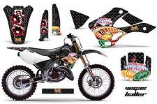 KAWASAKI KX 125/250 Graphic Kit AMR Racing Decal Sticker Part KX125/250 99-02 VB