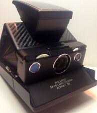 Polaroid SX-70 Real Carbon Fiber PolaSkinz Replacement Skinz Leather SLR680.