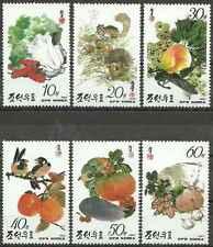 Timbres Flore Corée 2415/20 ** année 1993 lot 17432