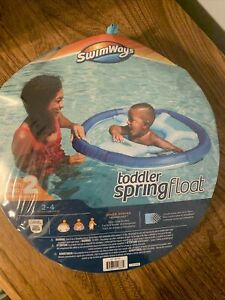 SwimWays Step 2 Toddler Spring Float First Paddle 2-4 years Blue Child Brand New