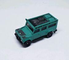 Matchbox 2017 Land Rover Defender 110 (1997) Green Land Rover Series LOOSE