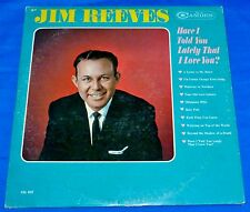 Jim Reeves (Have I Told You Lately That I Love You?) Vinyl LP Record RCA Camden