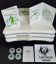 Nintendo Wii FIT PLUS BUNDLE *LIKE NEW-FREE POSTAGE* with GAME & BALANCE BOARD
