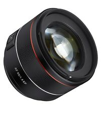 Rokinon 85mm F1.4 Auto Focus Lens for Canon EF Digital SLR - Model IO85AF-C