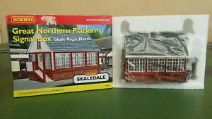 Hornby Skaledale R9634 Great Northern Platform Signal Box - Skale Regis North