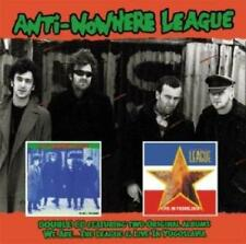 Anti-Nowhere League - We Are The League - Live In Yu (NEW CD)