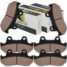Brake Pads Fits Honda CX650 CX650 TTURBO Front Rear Brakes 1983