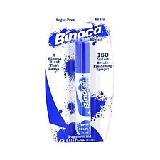 Binaca Mouth Breath Spray 0.2 oz Peppermint Blister pack  4 Pcs  FREE SHIPPING