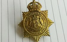 British South African Police Brass Badge King's Crown REF TT 14 B