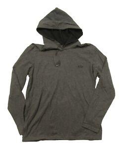 Boss Hugo Boss Black Label Men's Gray Lounge Hooded T-Shirt