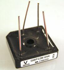 Vishay Bridge Rectifier VS-GBPC3510W 35A 1000V Wire Terminals MBG021
