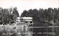 "CABLE WISCONSIN THE ""ALWORD"" LAKEWOODS RESORT~LAKE NAMAKAGON~REAL PHOTO POSTCARD"