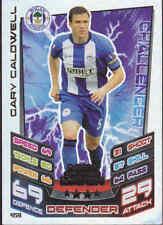 MATCH ATTAX 12/13 Man Of The Match Gary Caldwell WIGAN ATHLETIC Card No.459