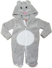 BABY BOY/ GIRL Fleece Jump Suit, One Piece Hood Ears Animal Themed Playsuit