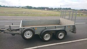 Ifor Williams Gd105 Trailer 10 X 5