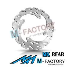 Rear Brake Disc MX Rotor x1 Fit HONDA CRF 450 X 04-15 05 06 07 08 09 10 11