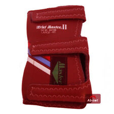 MASTER 2 BAND RED RIGHT Hand Bowling Wrist Support Accessories Sports_NU