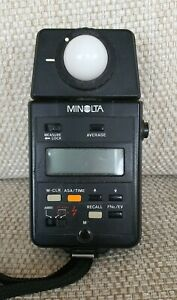Minolta Auto Meter III Flash / Incident Light Meter Used but working