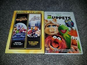 The Muppets DVD lot of 3 Muppets Take Manhattan , Muppets in Space Disney Muppet