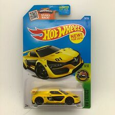 2016 Hot Wheels Renault Sport Rs 01 Yellow 1/64