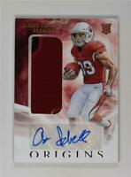 2019 Panini Origins Rookie Jumbo Patch Auto #138 Andy Isabella