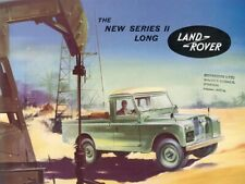 LAND ROVER 1957-1958 SERIES-I '88' RETRO POSTER BROCHURE CLASSIC ADVERT A3!!!