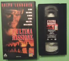VHS FILM Ita Azione L'ULTIMA MISSIONE dolph lundgren FOX ex nolo no dvd cd (V18)