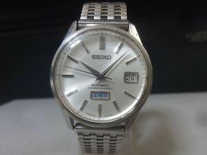 Vintage 1965 SEIKO Automatic watch [Seikomatic] 26J 6206-8040 Cal.6206B