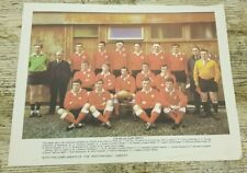 Vintage 1969/70 Welsh Rugby Union Team Photo Print from The Western Mail