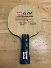 New listing Nittaku KVU 7-ply Table Tennis Blade Defensive Shakehold FL Made with Kevlar