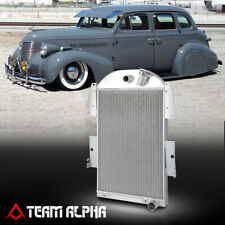 Fits 1935-1936 Chevy Master Deluxe EA/ED A-Body [TRI ROW CORE] Aluminum Radiator