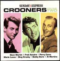 Promo CD, Crooners Vol 2, Fred Astaire, Al Martino. Bobby Darin