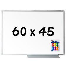 Whiteboard Magnettafel Wandtafel 60x40cm 12 Magnete Präsentationstafel Tafel