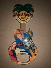 Hard Rock Cafe Nassau Bahamas Diver Guitar Bottle Opener Magnet