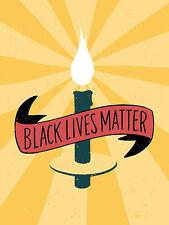 Black Lives Matter Hands Emily Rasmussen African American Print Poster 18x24