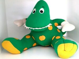 Dorothy the Dinosaur-THE WIGGLES VINTAGE Plush singing/batteries included-1997