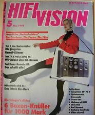 Hifi Vision 5/91 Revox H1, Pioneer C73/M73, Sony TA-E80ES / TA-N80ES, Quart One