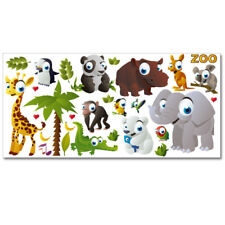 "Wandkings Wandsticker ""Zoo"" XL-Set Aufkleber Sticker Deko"