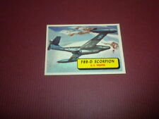PLANES trading card #16 TOPPS 1957 Army Navy Air Force AIRPLANES OF THE WORLD