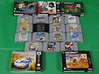 Nintendo 64 N64 Games Boxed Cartridge Game collection *Choose Yourself*