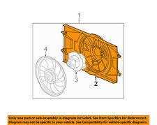 GM OEM Cooling Fan-Radiator Shroud 15849632