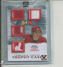 Fedorov ITG Superlative Vault on The First Six Trophy Case Complete Jsy Ruby 1/1