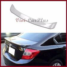 Pick Color 12-13 Honda Civic 9th Sedan DX EX LX OE Type Trunk Boot Spoiler Wing